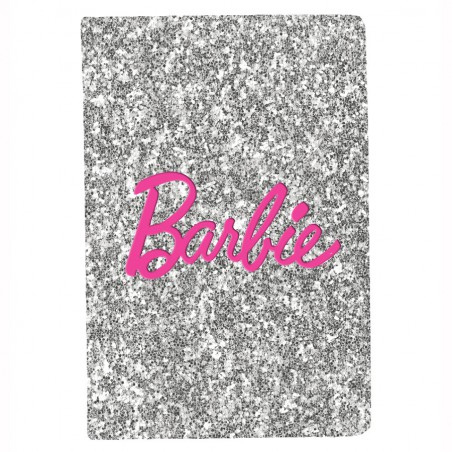 Notes brokatowy A5 Barbie